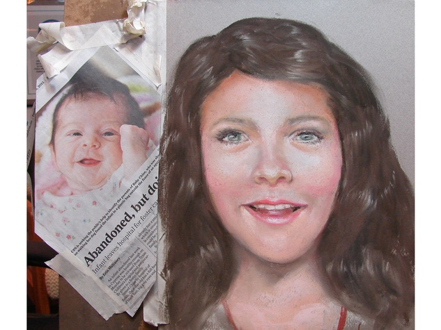 forensic artist, Lois Gibson, March 2013, Lois Gibson, Chloe mother sketch