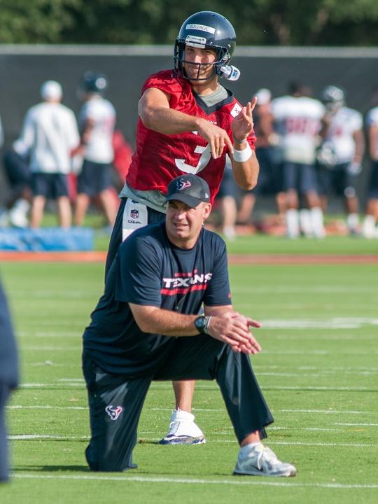 Bill O'Brien Tom Savage Texans