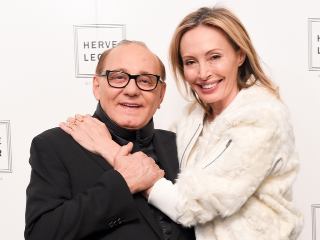 Clifford Fashion Week New York Fall 2015 Herve Leger February 2015 Lubov and Max Azria