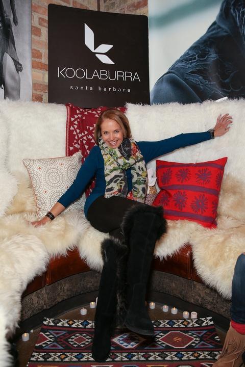 Katie Couric at Sundance Film Festival
