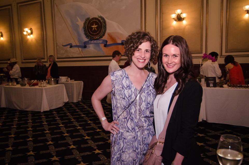 Jennifer Chininis and Jessica Baldwin