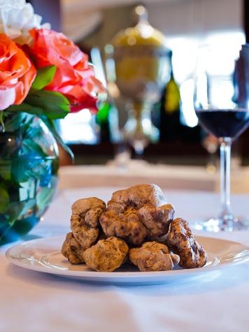 Ristorante Cavour white truffles November 2013 Hotel Granduca