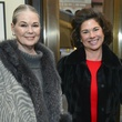 9 Paula Douglass, from left, Windi Grimes and Laurie Morian at the Baker Institute reception December 2013