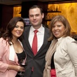 Mia Stanford, from left, Kevin Kenyon and Rachel Cox at the Royal Sonesta Hotel renovation unveiling November 2013