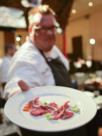 019, Bon Vivant Houston culinary event, January 2013, Chris Shepherd (Underbelly)