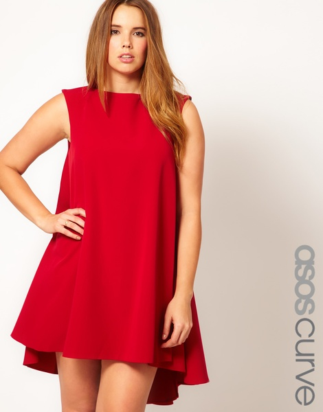 Asos curve swing dress