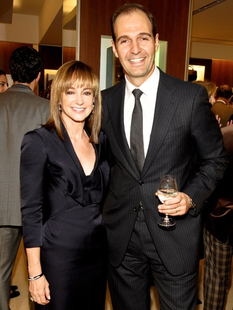 Events-Ferragamo-Oct. 2009-Janet Gurwitch, Vincent Ottomanelli