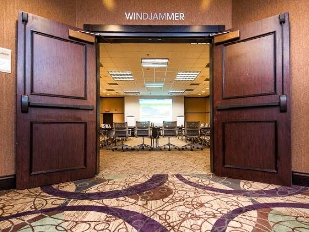 San Luis Conference Center, Windjammer entry