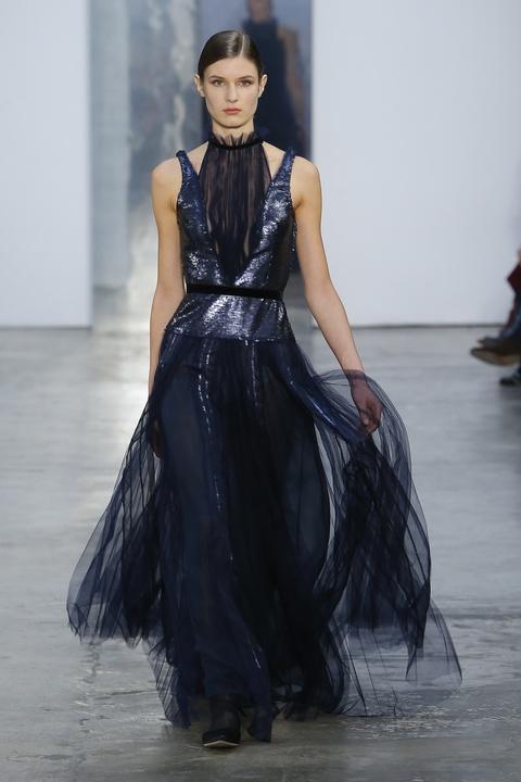 Carolina Herrera fall 2017 gown