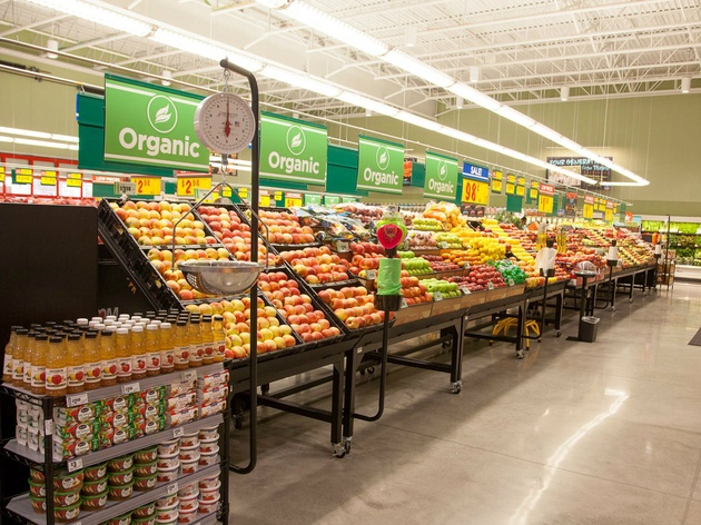 H-E-B supermarket produce section