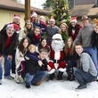 17 Hartland family at Mission of Yahweh's gift-giving celebration December 2013