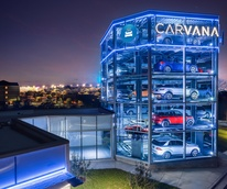 Carvana vending machine Austin