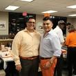 Roland Maldonado and Edward Sanchez at Whataburger party