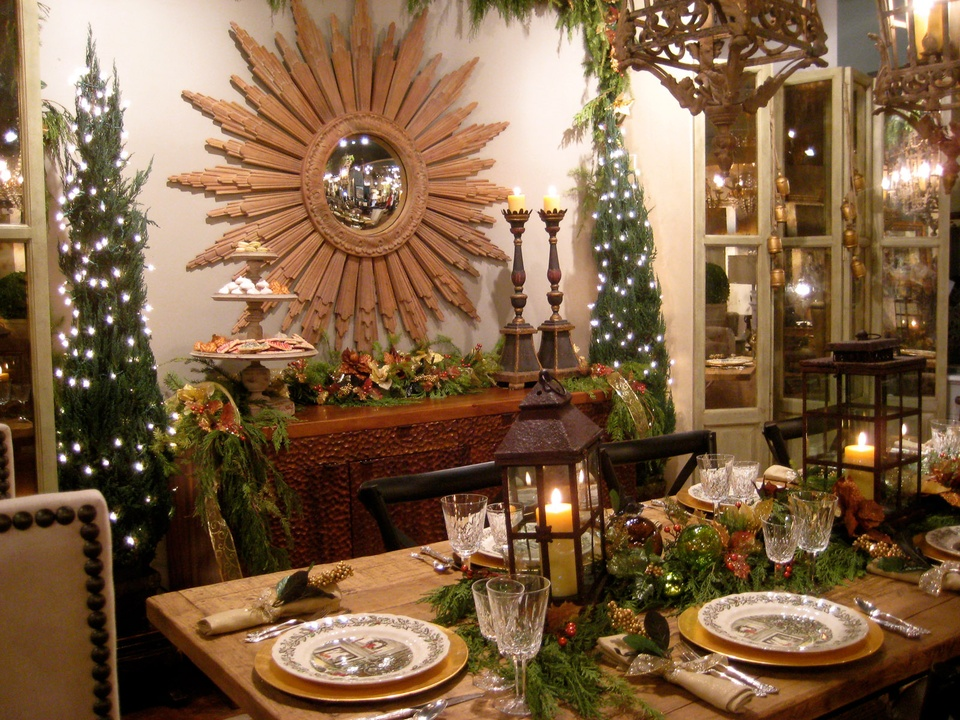News Houston Design Center Holiday Table Decorating Decorations