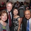 Nellie Fraga, from left, Bob Stein, Linda Toyota and Felix Fraga at the Mayor's Hispanic Heritage Awards event October 2014