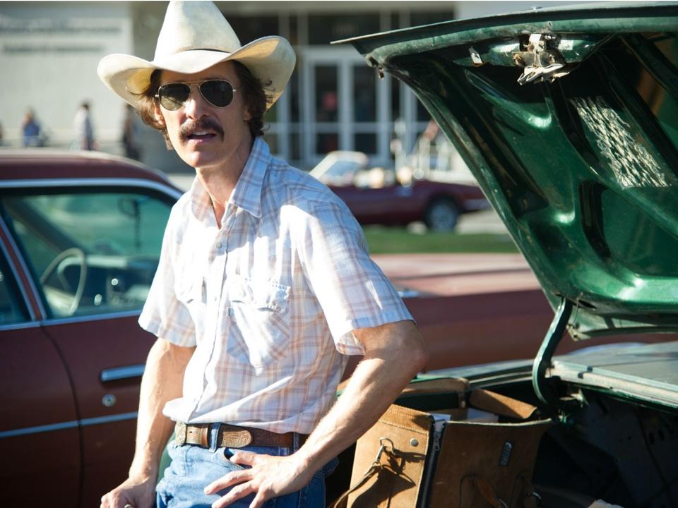 Matthew McConaughey in Dallas Buyer's Club