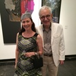 Hazel Ganze and Frazier King at the Lawndale Big Show preview party July 2014