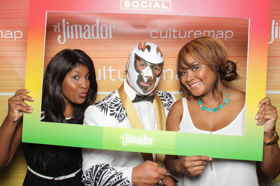 112 Smilebooth at CultureMap Summer Social July 2014