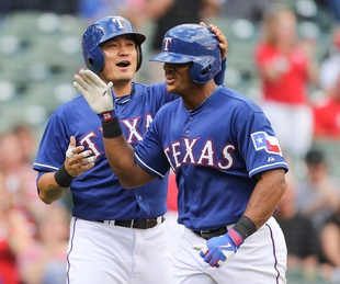 Adrian Beltre of Texas Rangers