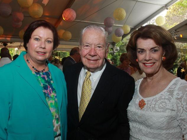 Bayou Bend Garden Party, April 2013, Bonnie Campbell, Wally Wilson, Jeanie Kilroy