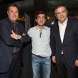 30 Rick de la Croix, from left, Pablo D'agostino and Ricardo Guadalupe at the Hublot dinner party at Tony's October 2013