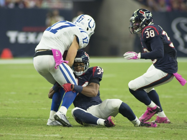 11 Texans vs. Colts October 2014 first half players