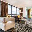 Hotel Derek penthouse October 2014 living room