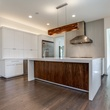 Tatum Brown custom kitchen with island