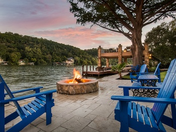 This ultimate Lake Austin estate is truly an entertainer's dream