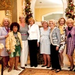 Nancy Smith Becker, Mary Lee Cox, Michelle Mew, Nona Carl, Mary Ann Smith, Olive Coe, Yvonne Crum, Billie Leigh Rippey, Claire Cunningham, Kyra Barnett, Les Femmes Du Monde, Woman of the Year 2013