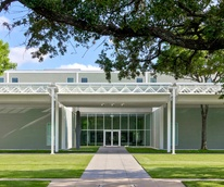 The Menil, exterior, entrance