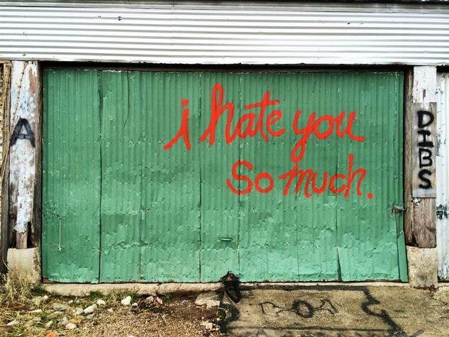 Street Art of Love and Heartbreak in Austin 1