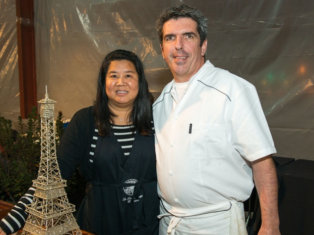 28 Monica Bui and Philippe Verpiand at the Houston Truffle Chef of the Year Challenge January 2015