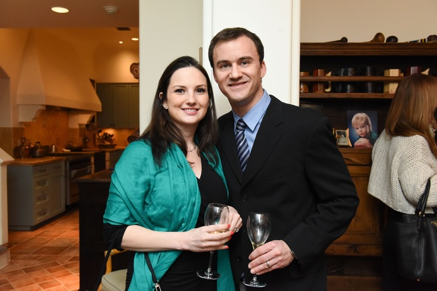 Houston, JDRF Promise Ball kick off party, January 2016, Angelica Haas, David Haas
