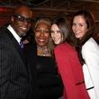 Fred Jones, Debra Jones, Kathryn Knox, Jessica Ventouras, media preview party diffa