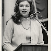 Austin Photo Set: News_Shelley Seale_Are you mad as hell yet_march 2012_ Sarah Weddington 1973