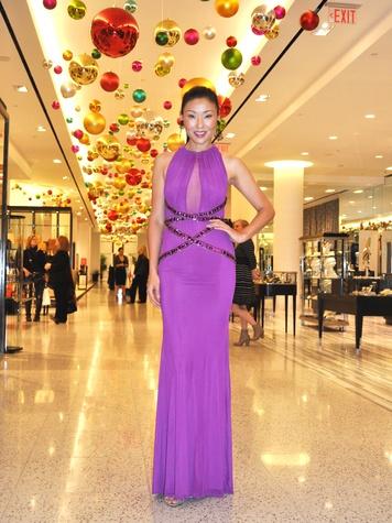 Suzanne Saperstein fashion December 2013 model 3