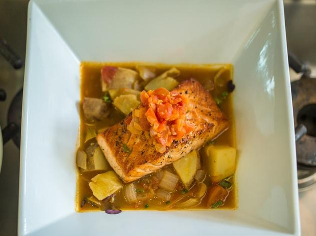 Omni Hotel Series Fish Dish