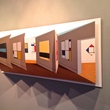 """Patrick Hughes' piece """"One Artist Stands Out"""" at Planned Parenthood Fine Art Auction"""