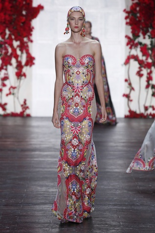 Naeem Khan spring summer 2016 collection look 2
