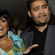 Patti LaBelle and Efrem Holmes arriving at a party in 2009