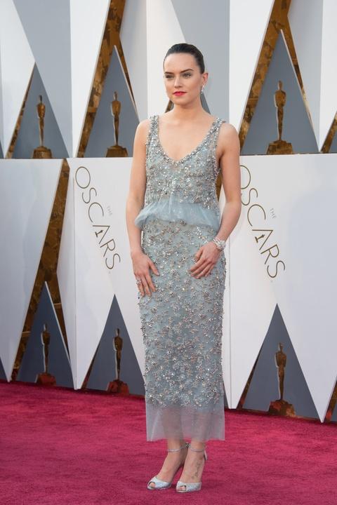 Daisy Ridley at Oscars