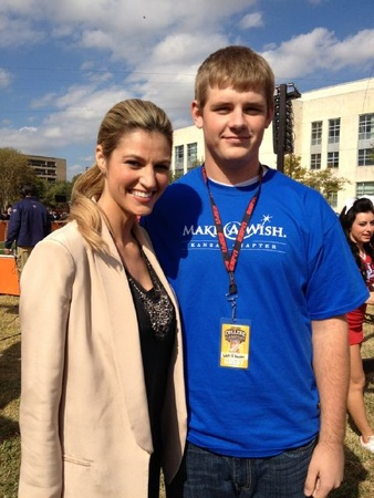 Erin Andrews GameDay with Jim