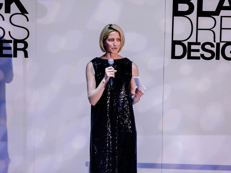 Chris Goins at Little Black Dress Designer 2017