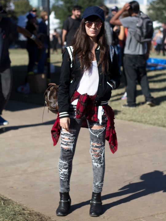 Fun Fun Fun Fest 2014 Fashion Style Suzanna Slavin