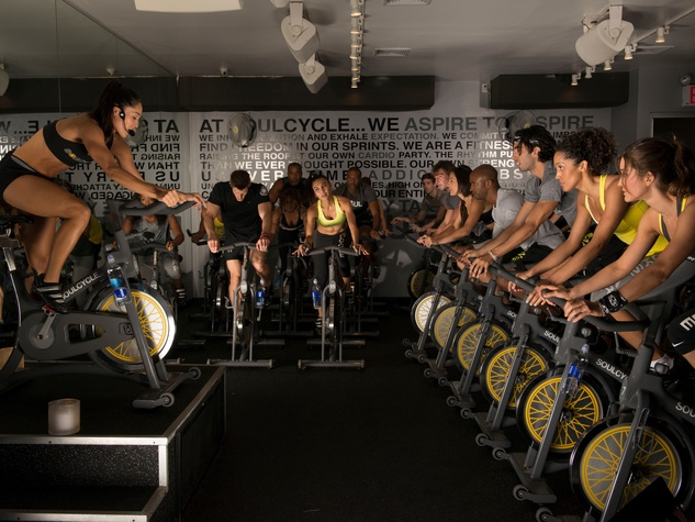 SoulCycle cycling class