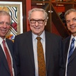 Robert C. Robbins, from left, Bud Frazier and Todd K. Rosengart at the Texas Heart Institute dinner April 2014