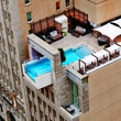 Pool at Joule Dallas hotel
