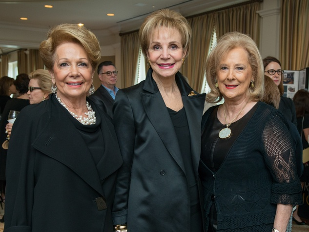 1 Philamena Baird, from left, Leisa Holland Nelson and Maryann McKeithan at the Passion for Fashion luncheon March