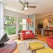 Austin home house 5932 Highland Hills Dr 78731 family room